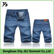 JZJ custom OEM factory denim short pant wash summer fashion style