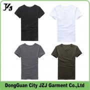 JZJ custom OEM factory men t shirt colorfule cotton summer fashion style