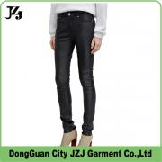 J0005 JZJ OEM custom factory PU leather legging pants colorful