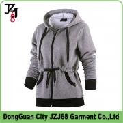 J00354 JZJ68 OEM CUSTOM WIMTER AUTUMN WOMEN COAT SPOTY HOODIE